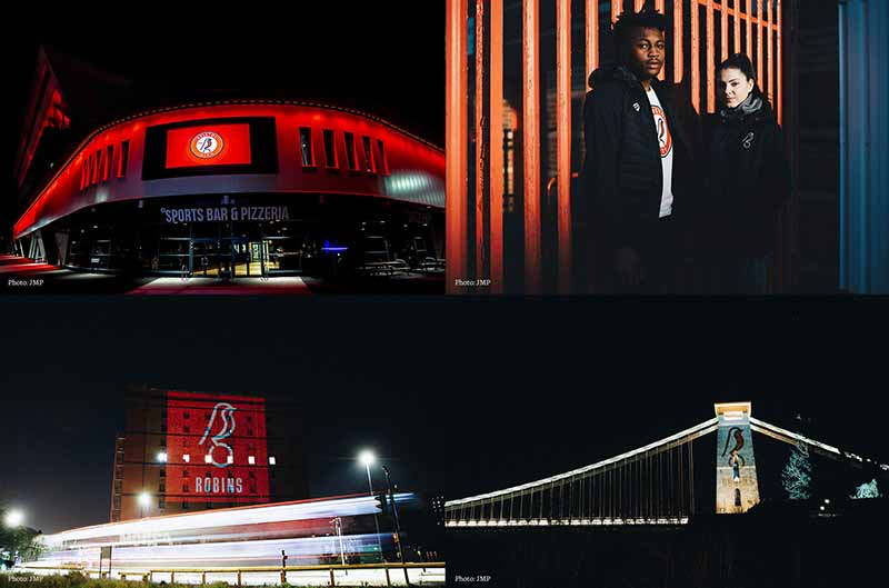 Bristol City足球俱乐部知更鸟新logo设计,让品牌充满视觉识别性