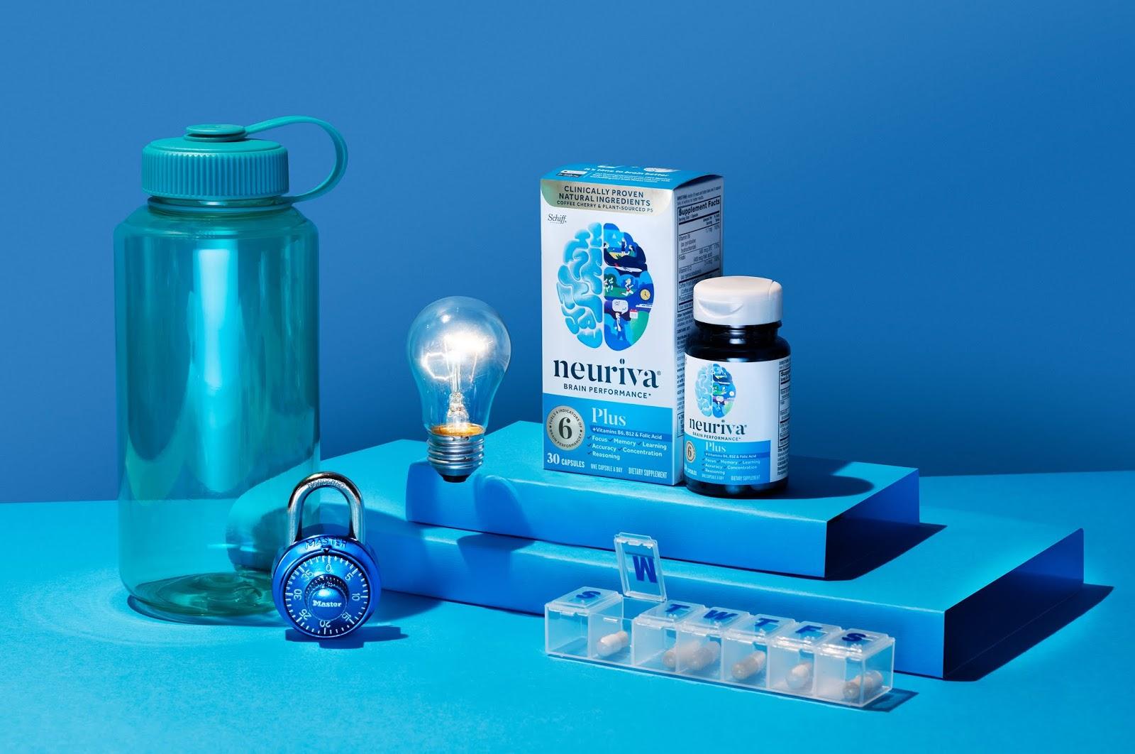 Neuriva 大脑健康营养补充系列保健品包装设计