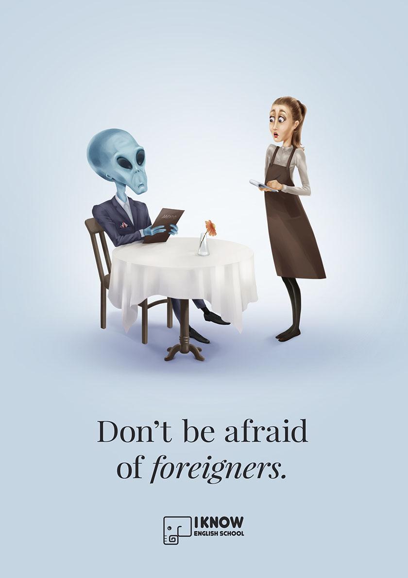 英语培训机构平面广告设计