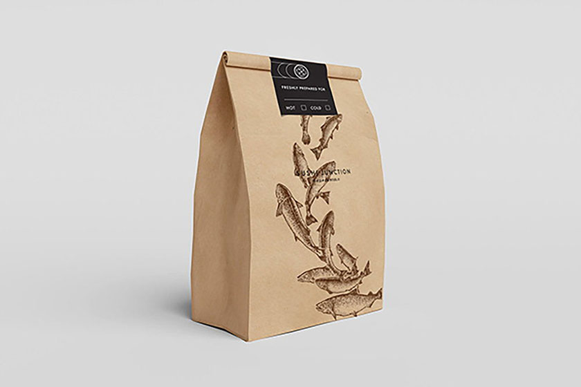 寿司醒目包装设计