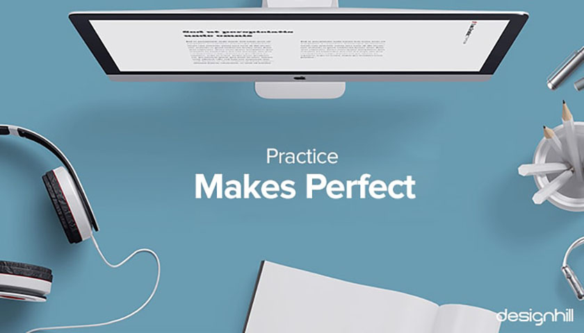 网站设计技巧-练习塑造完美