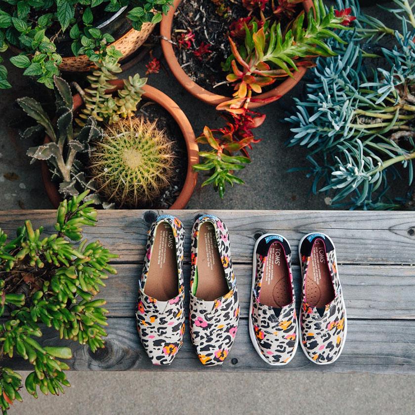 品牌形象图像-TOMS鞋子在Facebook上的形象