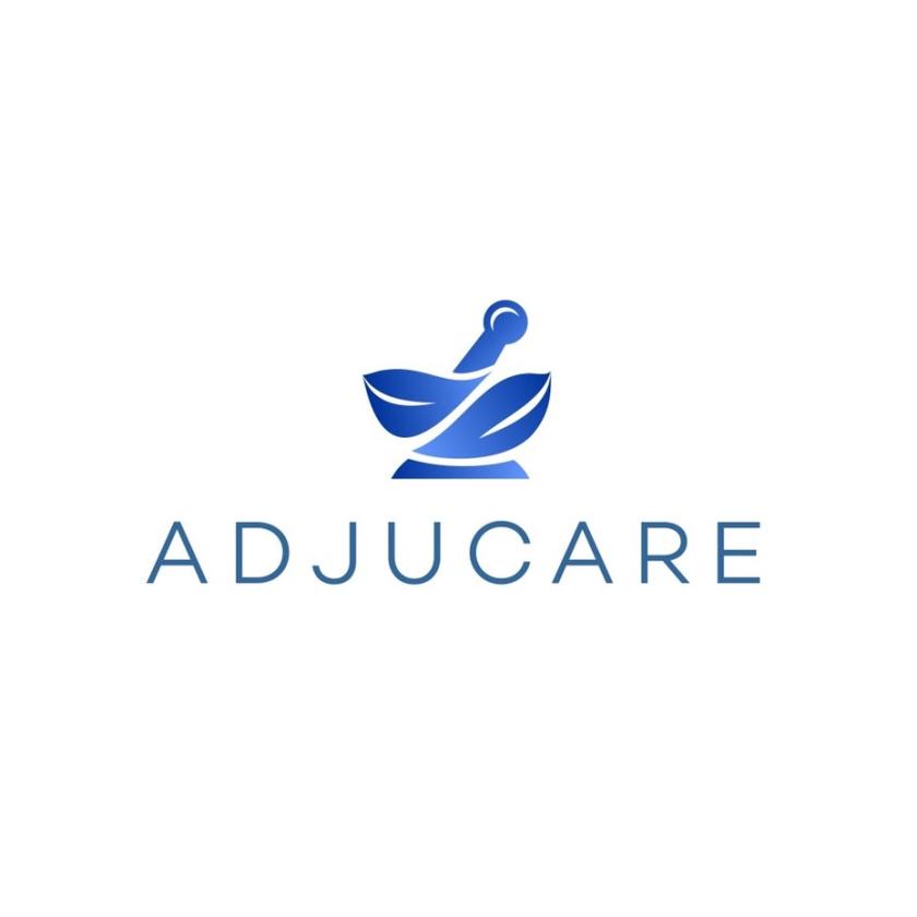 砂浆和杵药房logo设计-Adjucare标志