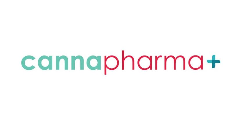 极简主义药房徽标logo设计-cannapharma标志