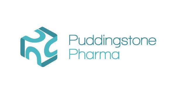 极简主义药房徽标logo设计-Puddingstone Pharma标志