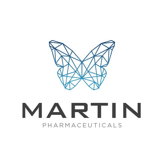 朴实的药房标识logo设计-Martin Pharmaceuticals的标志