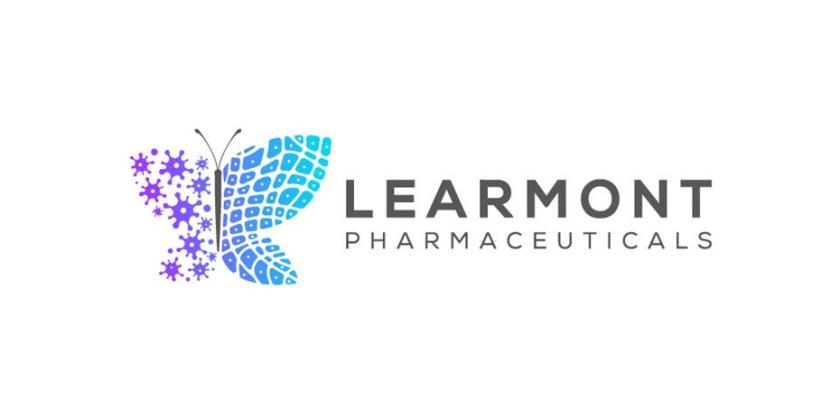 朴实的药房标识logo设计-Learmont Pharmaceuticals标志