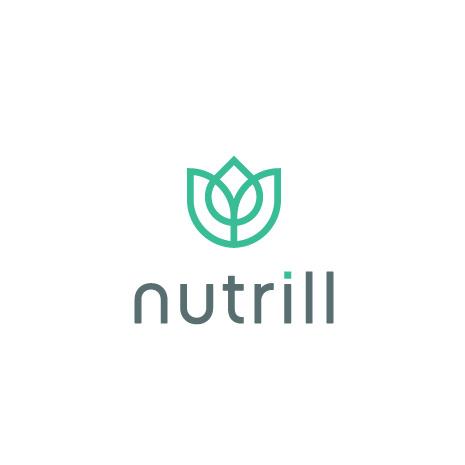 朴实的药房标识logo设计-Nutrill标志