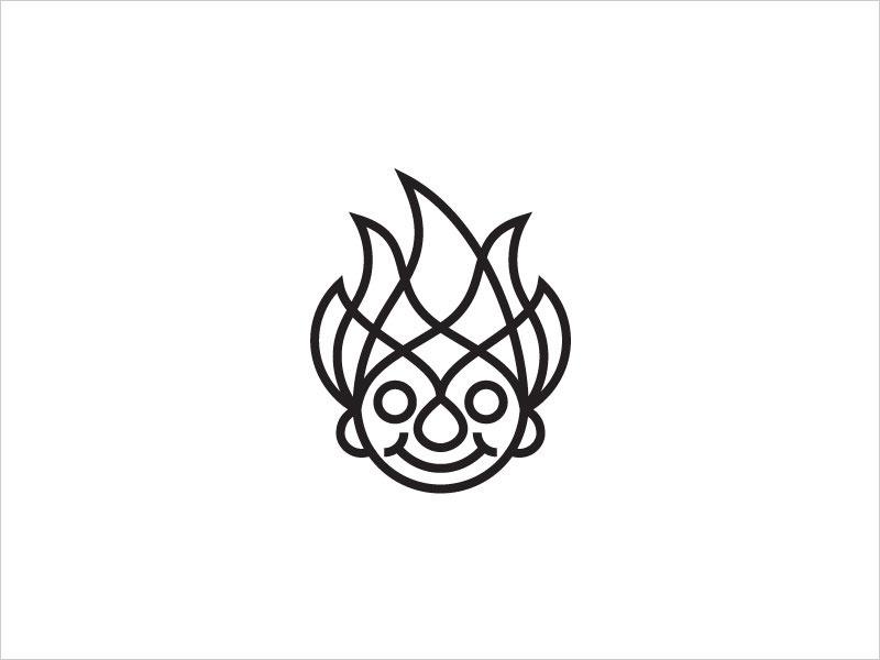 艺术线条logo设计灵感
