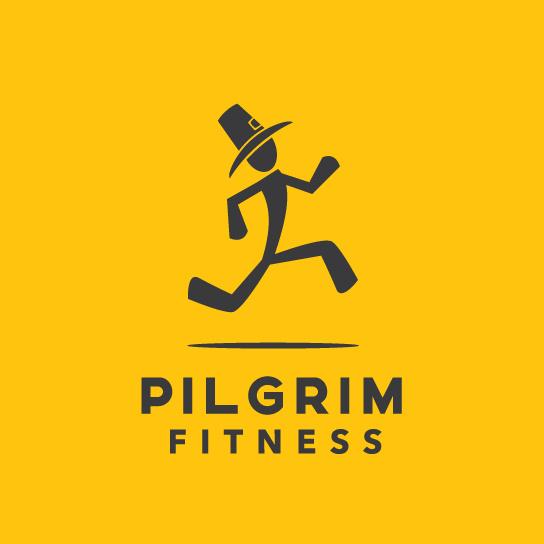 健身logo跑动的人