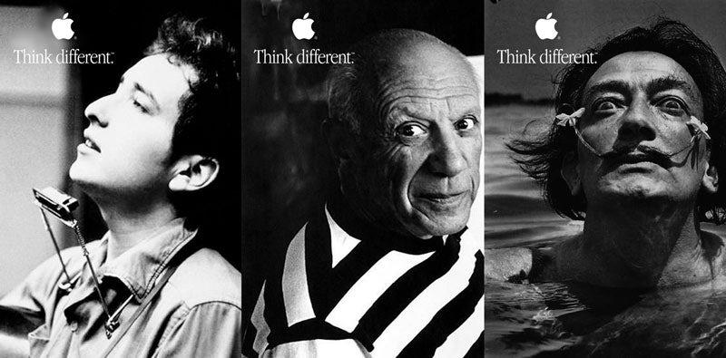 Apple与众不同的标语