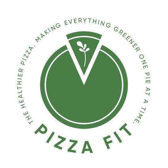 Pizza Fit by EWMDesigns的独特标志设计