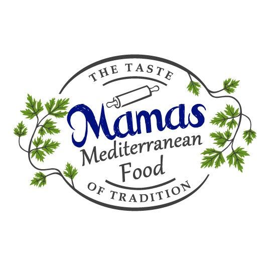 妈妈的地中海美食标志设计