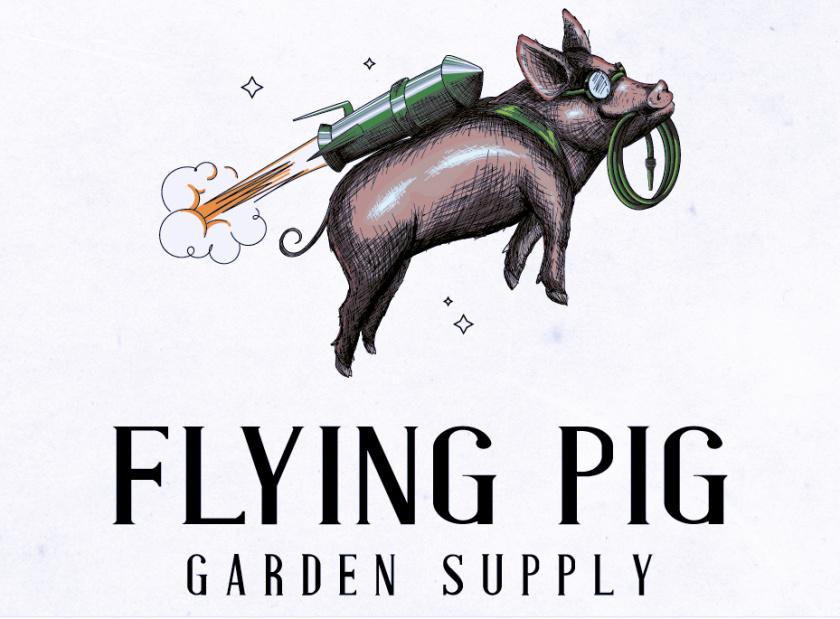 飞猪花园用品标志logo设计