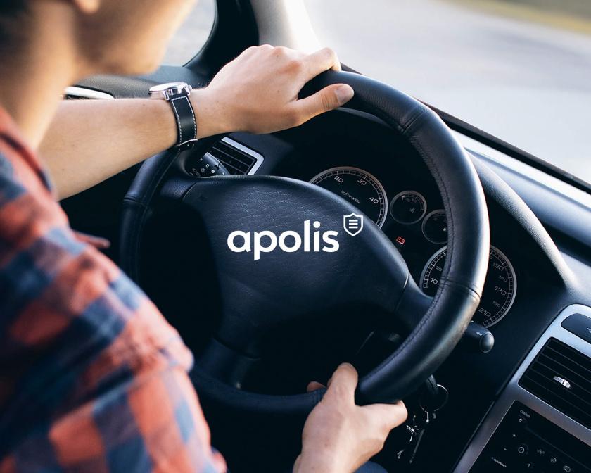 Apolis保险公司盾牌logo设计与企业品牌vii视觉识别设计-上海vi设计公司
