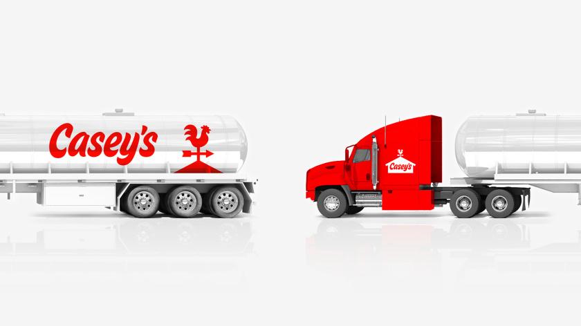 Casey便利店与比萨连锁店logo设计品牌形象vi设计,公鸡风标+房屋谷仓造型