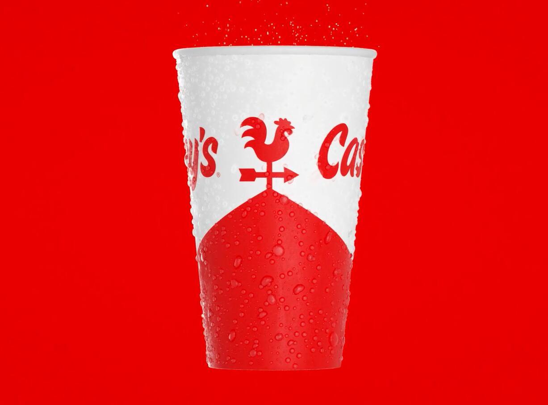 Casey便利店与比萨连锁店logo设计品牌形象vi设计包装设计,公鸡风标+房屋谷仓造型