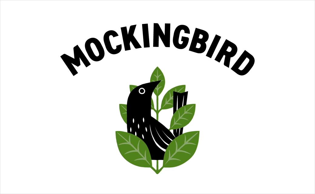 Mockingbird 知更鸟果汁logo设计