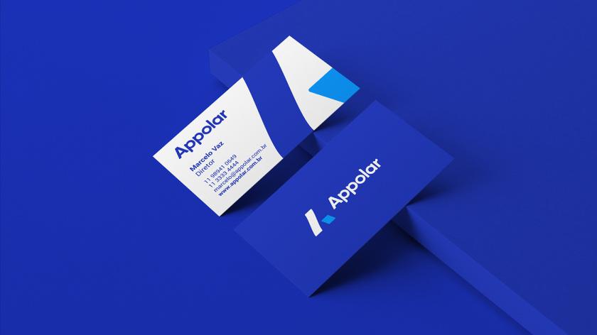 Appolar 环境清洁和卫生消毒公司vi视觉识别设计logo设计