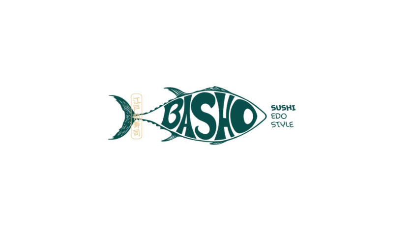 "Basho日式寿司餐厅餐饮品牌vi形象全案策划设计""浮世绘""艺术风格-logo设计"