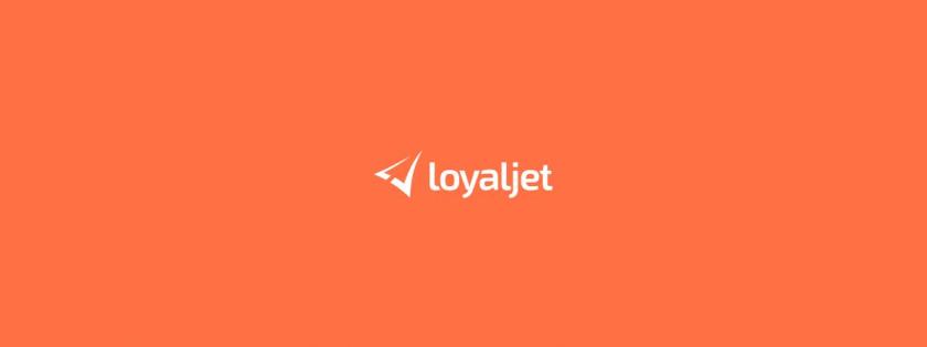 LoyalJet 航空服务公司企业飞机logo设计