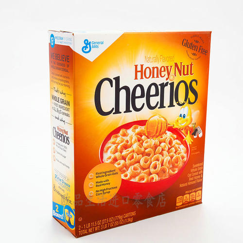 Cheerios早餐麦片食品品牌命名策略