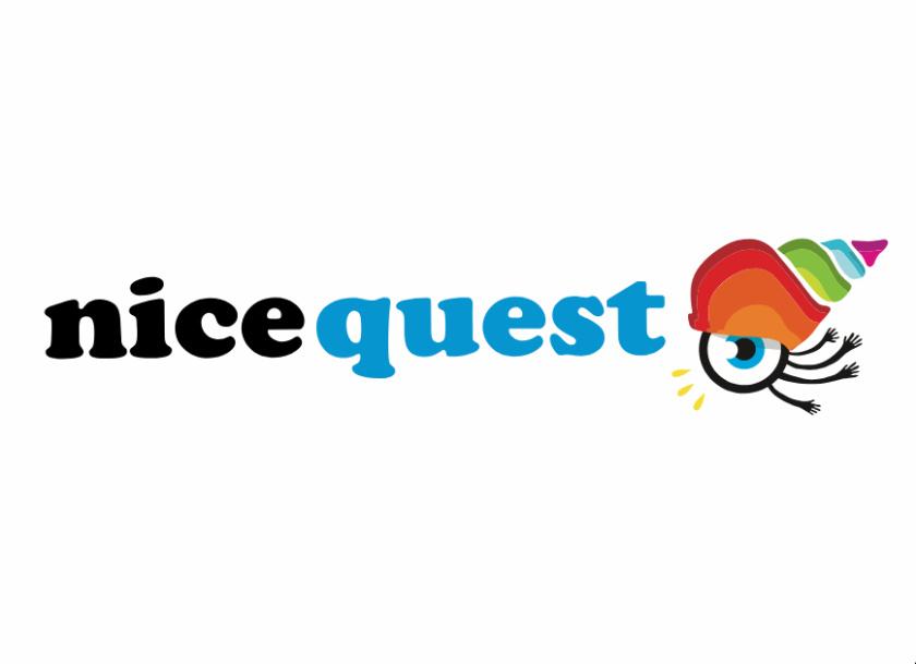 Nicequest 在线社区网站互联网科技公司旧logo设计