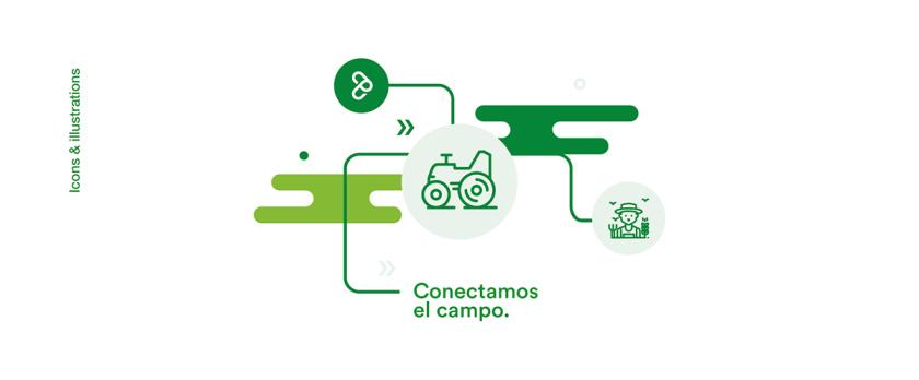 Agroads 农业电子商务品牌logo设计,字母a+g,绿色线条logo