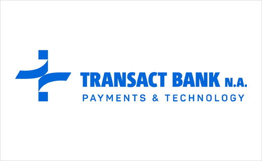 Transact 国际结算银行品牌命名与logo设计