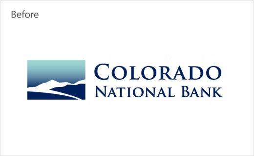 Colorado 科罗拉多国家银行旧名称和logo设计