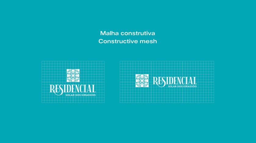 Residencial高端住宅地产logo设计vi设计,教堂+太阳+想日款+马赛克元素