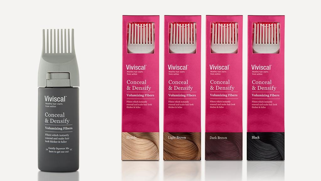 """Vivisca 头发生长剂品牌重塑策划与""""梳子造型""""包装设计"""