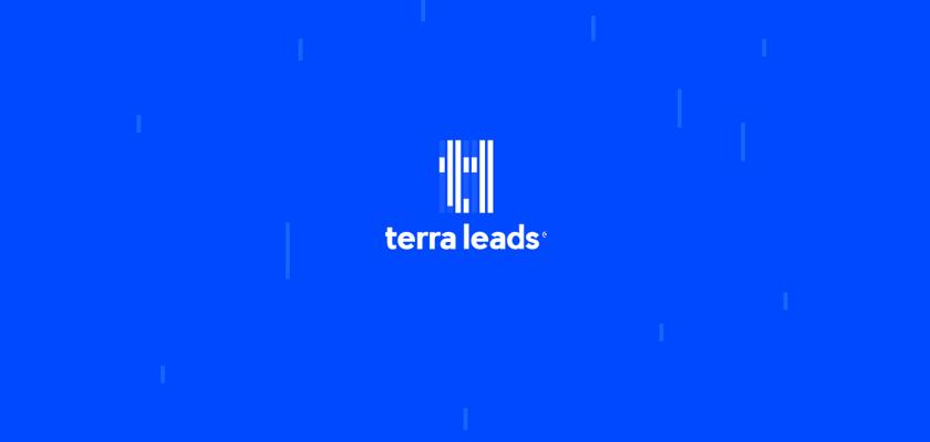 Terra Leads 注册会计师互联网平台网站品牌形象logo设计vi设计,变化的垂直线条