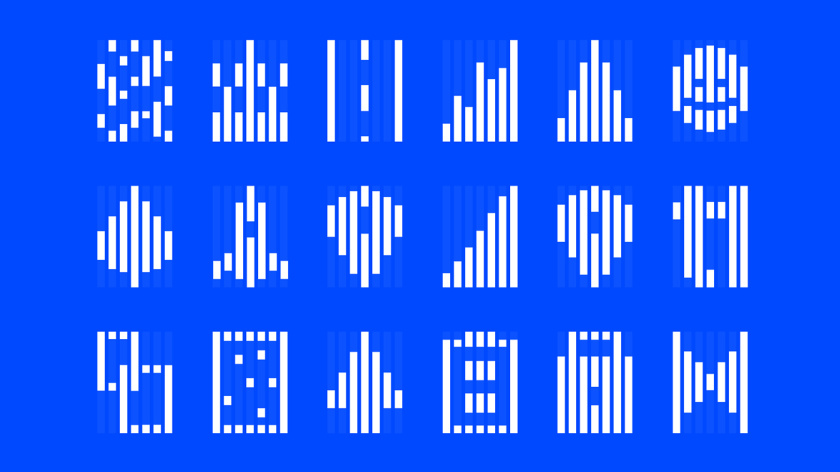 Terra Leads 注册会计师互联网平台网站品牌形象logo设计vi设计辅助图形设计,变化的垂直线条
