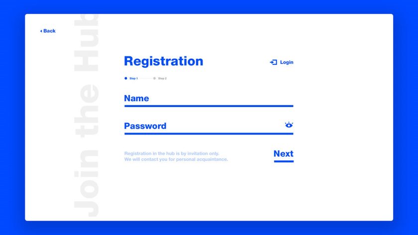 Leads 注册会计师互联网平台网站品牌形象vi设计网站设计,变化的垂直线条
