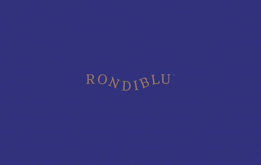 RONDIBLU 床垫睡眠产品品牌形象vi设计-字母曲线logo设计