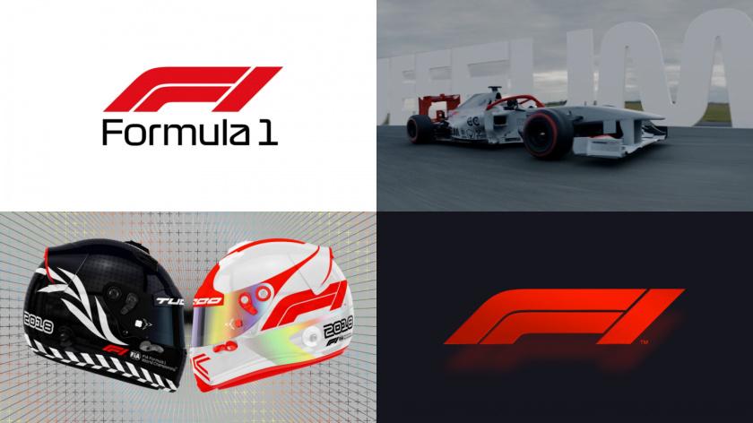"""""""英雄""""品牌原型视觉形象设计:最高级别的比赛-一级方程式品牌logo-vi视觉设计"""