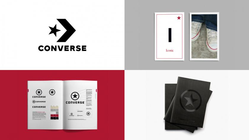 """""""叛逆者""""品牌原型视觉形象设计:匡威运动鞋品牌logo-vi视觉设计"""