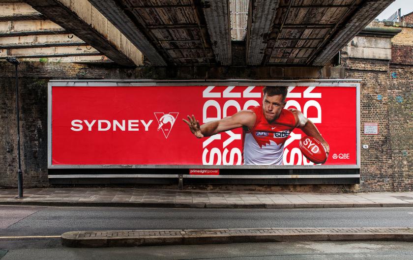 悉尼天鹅橄榄球足球体育俱乐部天鹅之眼新logo设计