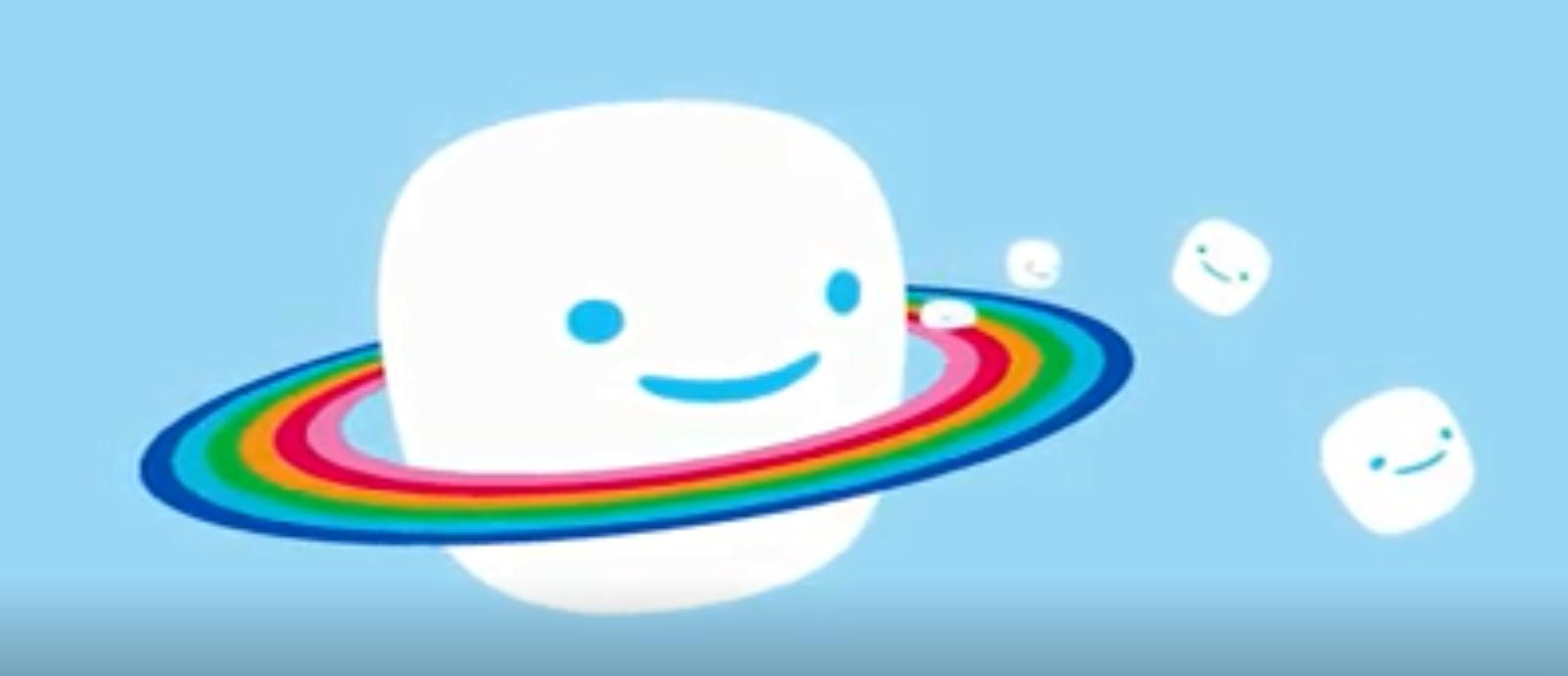 "Jet-Puffed棉花糖食品包装设计""喷射的彩虹之路"""
