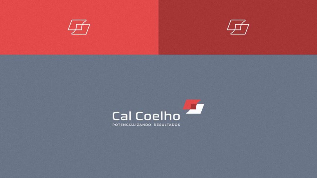 Cal Coelho 架构师个人品牌logo设计vi设计,C+C突显合作的设计理念