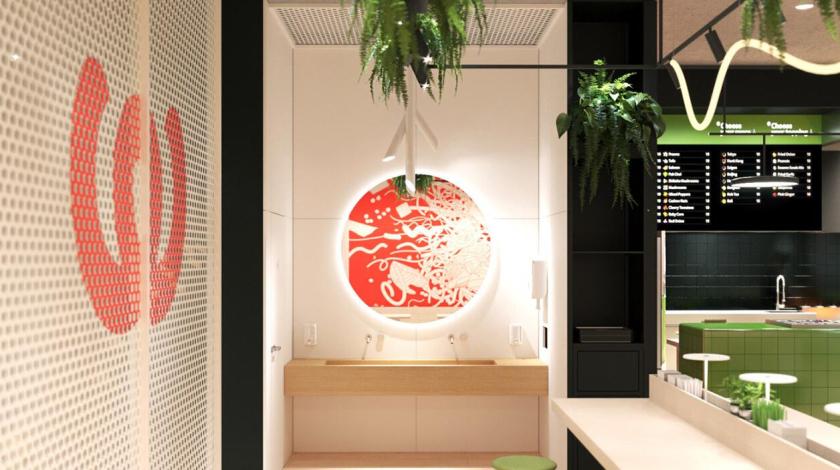 Woobles 明火炒锅餐厅餐饮品牌创建与全案策划设计-店铺物料-贴纸设计