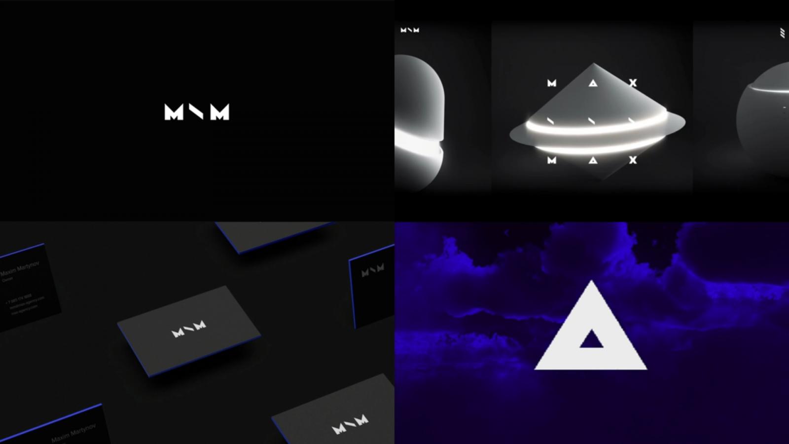 """""""魔术师""""品牌原型视觉形象设计:MAX \ MAX-技术和演出制作品牌logo-vi视觉设计"""