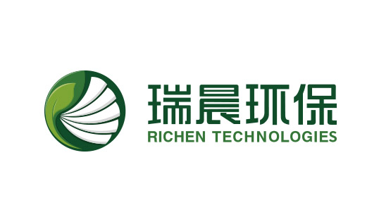 瑞晨环保企业形象重塑设计-logo/VI/海报/画册/网站