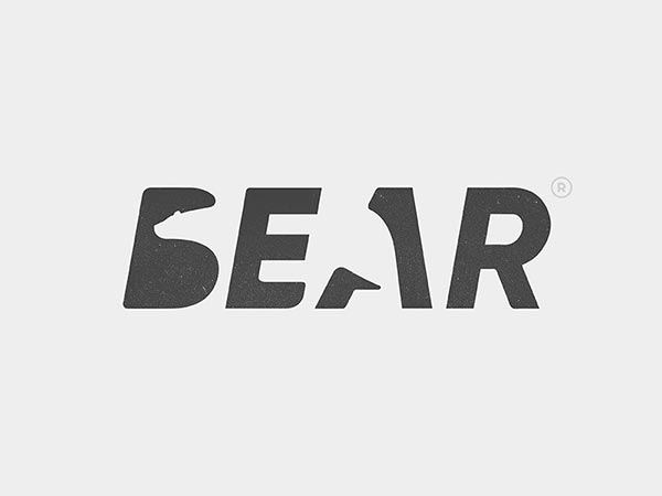5.负面空间创意logo设计