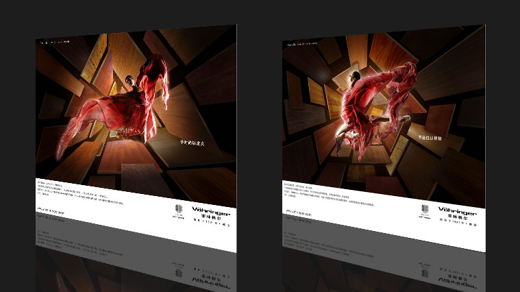 菲林格尔地板形象广告创意设计