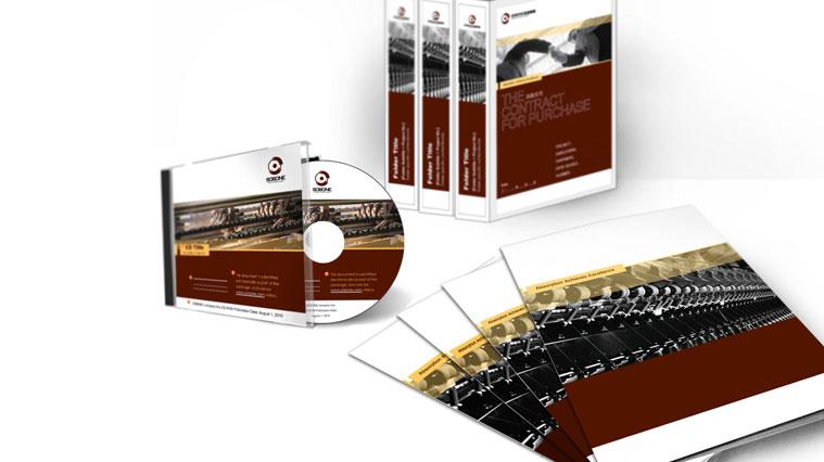 松宝纺织机械企业品牌VI设计-宣传册光盘VI设计-上海VI设计公司1