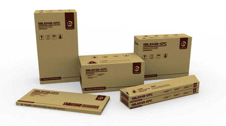 松宝纺织机械企业品牌VI设计-产品包装VI设计-上海VI设计公司