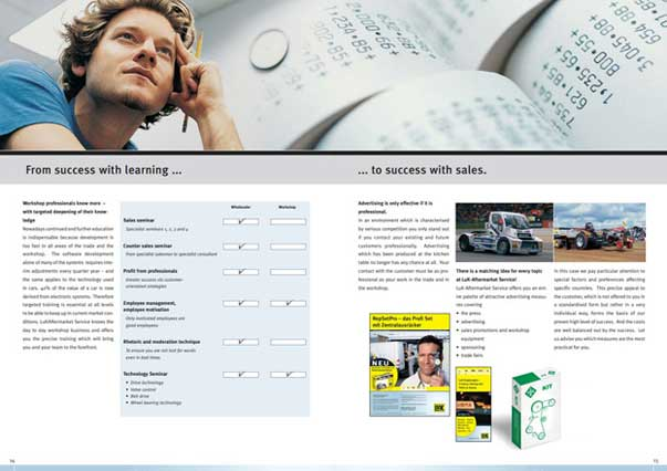 舍弗勒汽车售后配件宣传册设计-上海画册设计公司