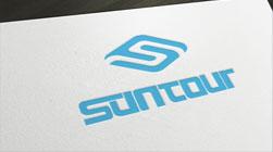 suntour昌途汽配品牌命名及标志设计